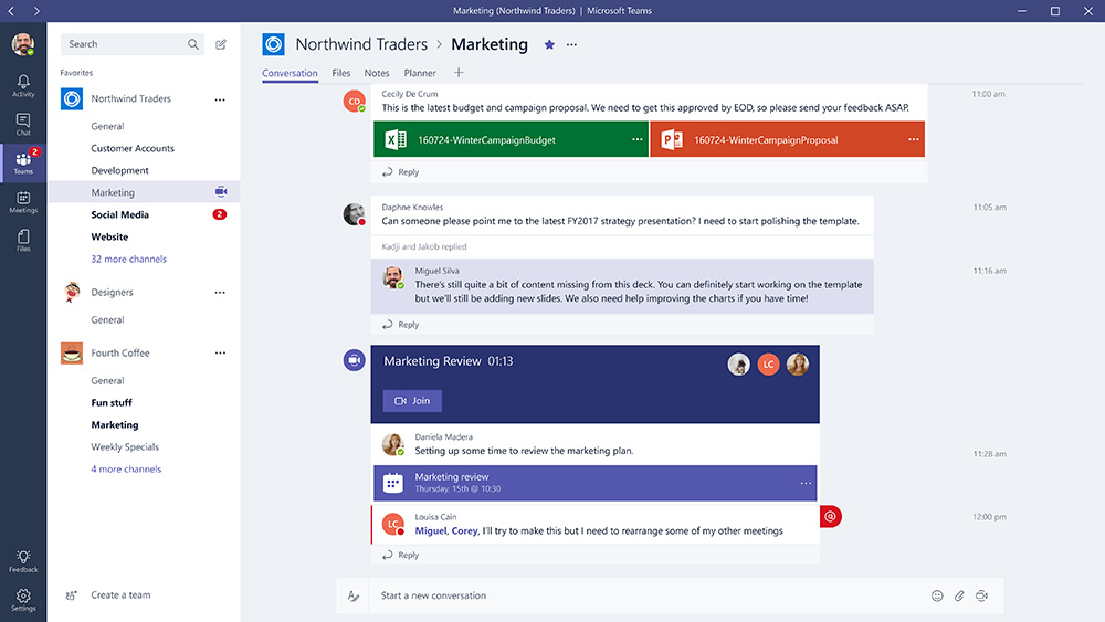 Microsoft Teams Web
